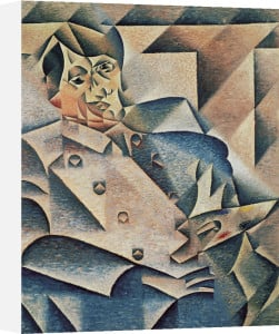 Portrait of Pablo Picasso, 1912 by Juan Gris