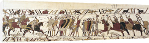 Bayeaux Tapestry - detail I by English or French School