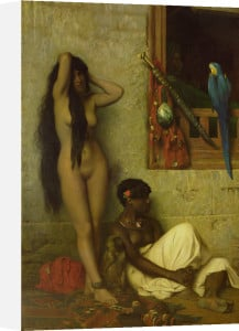 The Slave for Sale, 1873 by Jean-Leon Gerome