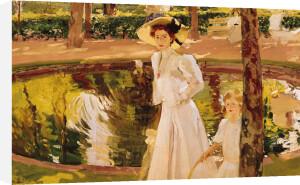 The Garden, 1913 by Joaquin Sorolla y Bastida