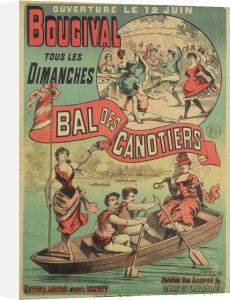 Bal des Canotiers by English or French School