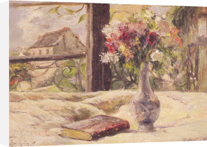 Vase of Flowers by Paul Gauguin