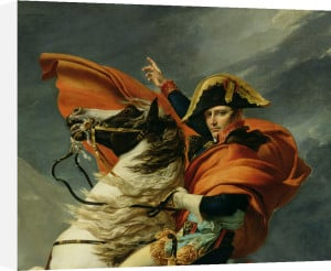 Napoleon Crossing the Alps (detail), 1803 by Jacques-Louis David