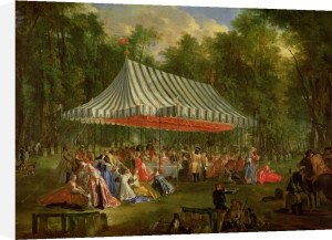 Festival for Prince of Brunswick-Lunebourg at l'Isle-Adam 1766 by Michel Barthelemy Olivier