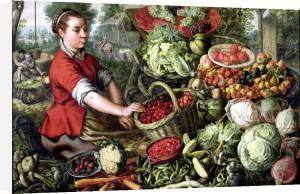 The Vegetable Seller by Joachim Beuckelaer