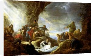 The Raising of Lazarus by Benjamin Gerritsz Cuyp
