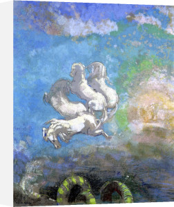 The Chariot of Apollo c.1905 by Odilon Redon