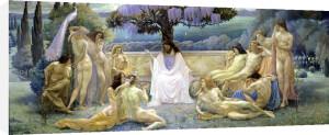 The School of Plato 1898 by Jean Delville
