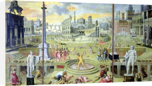 The Massacre of the Triumvirate 1566 by Antoine Caron