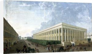 La Palais de la Bourse by Henri Courvoisier-Voisin