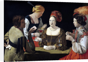 The Cheat with the Ace of Diamonds c.1635 by Georges De La Tour