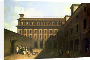 The Prison des Madelonnettes by Louis-Leopold Boilly