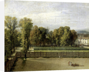 View of the Luxembourg Gardens in Paris 1794 by Jacques-Louis David