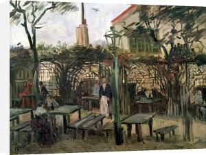 Pleasure Gardens at Montmartre 1886 by Vincent Van Gogh