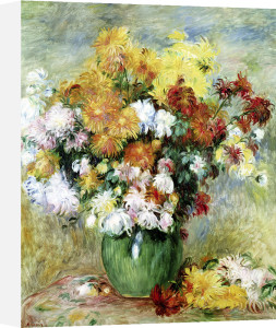 Bouquet of Chrysanthemums c.1884 by Pierre Auguste Renoir
