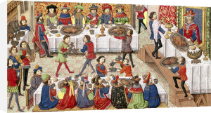 How the Noble King Alexander was Poisoned 1460 by French School
