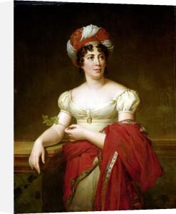 Portrait of Madame de Stael by Anne Louis Girodet de Roucy-Trioson