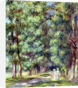 Path in a Wood 1910 by Pierre Auguste Renoir