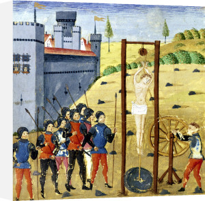 How Alexander the Great killed and Martyred Calixten Cephobe by French School