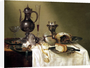 Still Life 1642 by Willem Claesz Heda