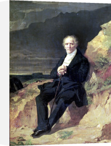 Portrait of Charles Fourier by Jean Francois Gigoux