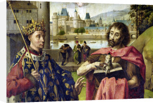 Parliament of Paris Altarpiece by French School