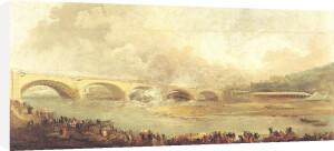 Unveiling of the Pont de Neuilly 1772 by Hubert Robert