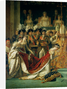 The Consecration of the Emperor Napoleon and the Coronation of the Empress Josephine by Jacques-Louis David