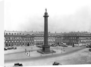 Place Vendome 1685 by Jules Hardouin Mansart