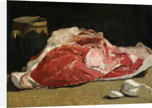 Still Life the Joint of Meat 1864 by Claude Monet