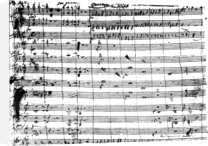 Ouverture of the opera 'Don Giovanni' by Wolfgang Amadeus Mozart