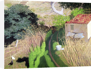 House and Reeds c.1921 by Felix Vallotton