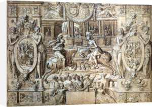 Tournament on the Occasion of the Marriage of Catherine de Medici by Antoine Caron