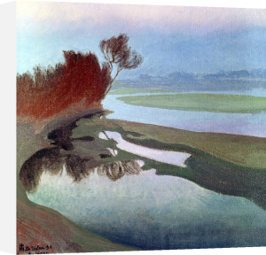 Landscape by Charles Marie Dulac