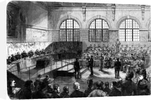 Members of the Commune being court martialled at Versailles 1872 by French School