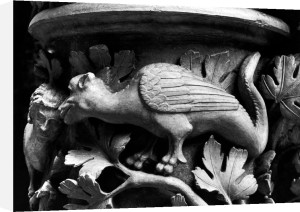 Basilisk capital from Cathedral of Notre Dame at Reims by French School
