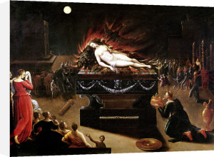 Apotheosis of Semele by Antoine Caron
