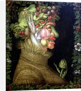 Summer 1573 by Giuseppe Arcimboldo