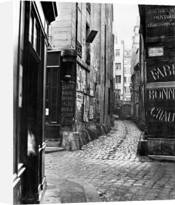 Impasse des Bourdonnais from rue de la Limace Paris 1858 by Charles Marville