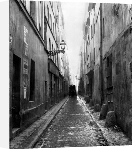 Rue des Vertus from rue Phelippeaux Paris 1858 by Charles Marville