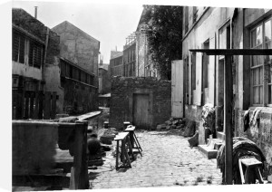 Banks of the Bievre Paris 1858 by Charles Marville