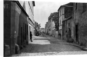Rue des Anglaises from rue de Lourcine Paris 1858 by Charles Marville