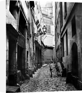 Rue du Haut Moulin from rue de Glatigny Paris 1858-78 by Charles Marville