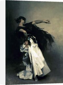 The Spanish Dancer, study for 'El Jaleo', 1882 by John Singer Sargent