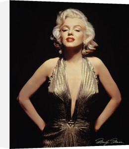 Marilyn Monroe (Gold) by Anonymous