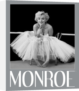 Marilyn Monroe (Ballerina - Silver Ink Border) by Mini
