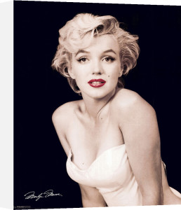 Marilyn Monroe (Red Lips) by Mini