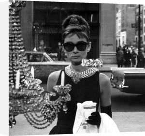 Audrey Hepburn (Window) by Anonymous