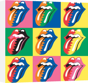 Rolling Stones (Pop Art) by Celebrity Image