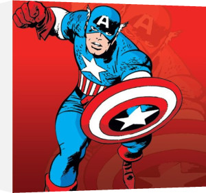 Captain America by Marvel Comics